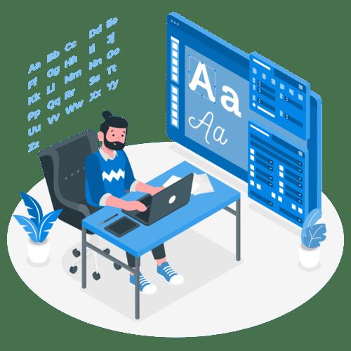 Curso de WordPress, ajustes de colores y tipografia de fuentes