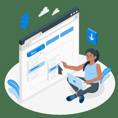 Crear menú web de navegación